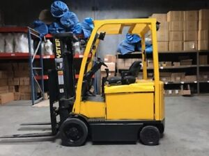 2012 Hyster Forklift 5000lbs Side Shift 3 Stage Model E50xn W Free Charger