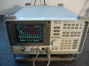 Hp Agilent 8594e Spectrum Analyzer Cal d 9khz To 2 9 Ghz Tracking Generator 10