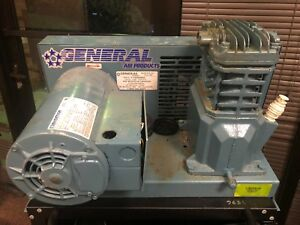 General Air Products Base Mounted Air Compressor Fire Sprinkler System L1220200a