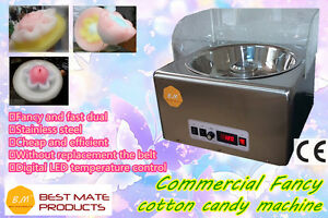 New B m Cc 3801h 1100w Fancy Commercial Cotton Candy Floss Maker Machine Store