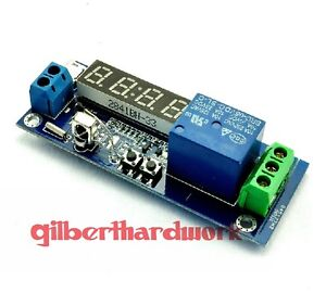 Digital Clock Temperature Timer Relay Module Switch Controller Components