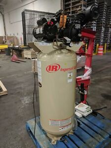 Ingersoll Rand 2340l5 Vertical Air Compressor Used Excellent Condition