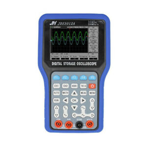 Jds3012a 30mhz Digital Oscilloscope Handheld 250msa s 2ch With 6000 Multimeter
