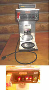 Bunn Cwtf15 Commercial Coffee Maker 3 Burner Automatic Brewer gets Hot