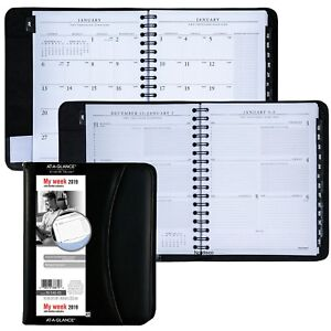 2019 At a glance 70 545 Executive Weekly Monthly Appointment Book 6 5 8x8 3 4