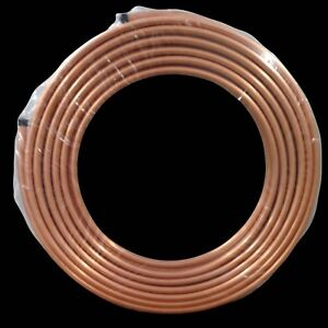 5 8 X 50 Ft Soft Copper Tubing Hvac Refrigeration pancake Coil