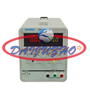 Atten Aps3003d 220v Single Output Regulated Dc Power Supply Variable 30v 3a