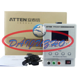 Atten 220v 5a 30v Dc Regulated Power Supply Adjustable Single Channel Tpr3005t
