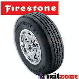1 Firestone Transforce Ht Lt265 75r16 123 120r Bw E Higway All Season Tires