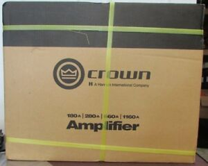 Crown Audio G180a