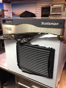 New Scotsman Icemaker 500 Flaker Flaked Ice Machine Restaurant Use