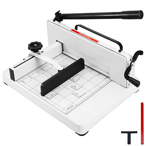 Heavy Duty Guillotine Paper Cutter 12 Trimmer Commercial Metal Base A4 Tool