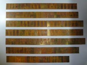 New Hermes Extra Condensed 35 046 171 Piece Master Copy Engraving Font Set