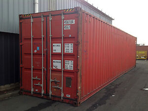 40ft High Cube 9 6 High Shipping Container Cargo worthy Miami Fl