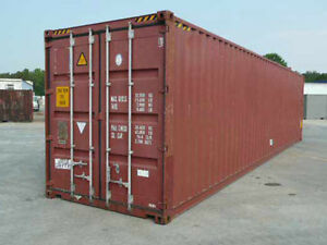 40ft High Cube Shipping Container cargo worthy For Sale In San Francisco Ca