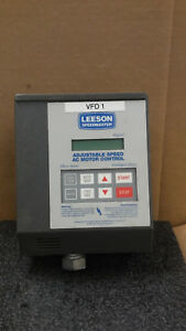 Leeson Speedmaster 174931 00 Digital Adjustable Speed Ac Motor Control