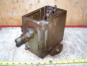 Old Madison Kipp 3 feed International Harvester Mogul Hit Miss Gas Engine Oiler