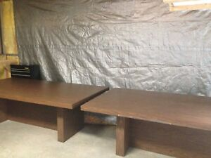 Conference Table Table Brown 4 By 8 Sturdy Kids Hobby Table