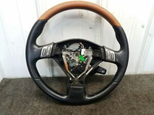 2006 Subaru Legacy Outback Steering Wheel Momo Wood Grain W Switches