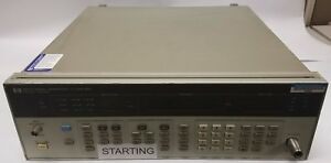 Hp 8657a Signal Generator 0 1 1040 Mhz