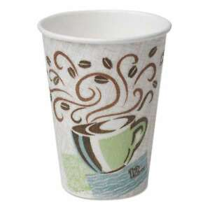 Dixie Perfectouch Paper Hot Cups 12 Oz Coffee Haze 160 pack 078731953445