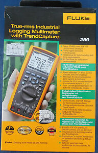 Fluke 289 True rms Logging Multimeter New In Box Msrp 725