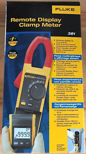 Fluke 381 Remote Display True Rms Ac dc Clamp Meter new In Box Msrp 715