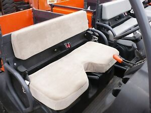 Kubota Rtv 500 Waterproof Bench Seat Cover Gray Endura For Notched Seat