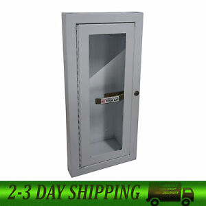 Sandusky Buddy Products Semi Recessed Fire Extinguisher Cabinet 8012 9 New