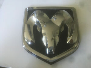 22 1995 2016 Dodge Ram 1500 2500 3500 Large Head Tailgate Emblem 68082011aa