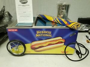 Hebrew National Hot Dog Table Top Cart Warmer Creative Serving Inc Foodwell