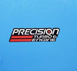 Precision Turbo Decal Sticker Boost Car Truck Racecar Forced Induction