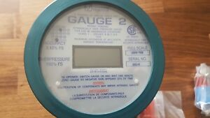New Vaetrix Gauge 2 Digital Pressure Gauge 2000 Psi