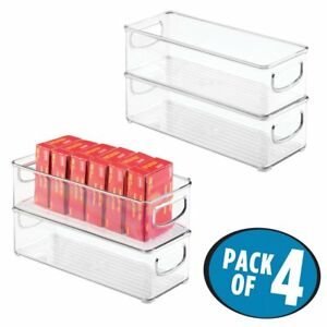 Mdesign Office Storage Organizer Bins For Staples Pens Pencils Pack Of 4