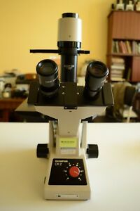 Olympus Ck2 Inverted Microscope With Mechanical Stage And Objectives