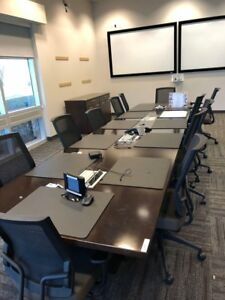 Modular 8 Ft Rectangular Conference Table National Waveworks