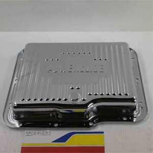 Racing Power Rpc R9124 Auto Transmission Oil Pan Chrome Gm Powerglide Trans Pa