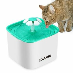 Cat Water Fountain Dispenser Healthy And Super Quiet Drinking Fountain 68 Oz