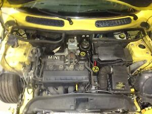 Engine 2002 Mini Cooper Base 1 6l Motor With 82 036 Miles