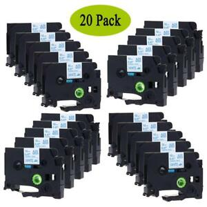 Tze fa3 P touch Label Tape Compatible For Brother Fabric Iron 12mm 20 Value Pack