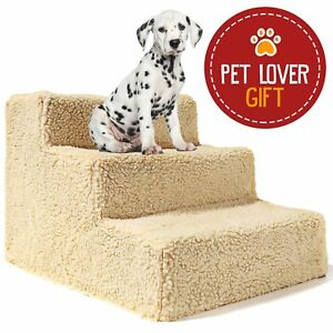 Animals Favorite Pet Bed Stairs 3 Steps Ladder For Small Dogs And Cats