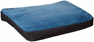 Ruffwear Urban Sprawl Everyday Base Camp Plush Dog Bed Overcast Blue Medium