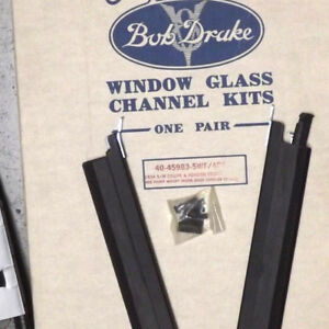 1932 Ford Tudor Sedan Front Door Window Channel Ket