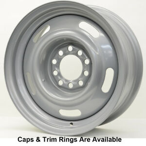 Vision Rally 55 Rim 15x4 5x4 5 5x4 75 Offset 0 Silver Qty Of 1