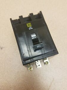 Square D Qob3100 100 Amp Circuit Breaker 3 pole Bolt in Nice Buy It Now