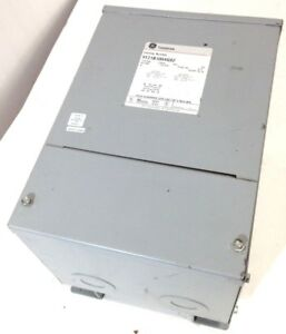 Ge 9t21b1004g02 5kva 5 Kva Electric Transformer 240v 480v To 120v 240v 1 Phase