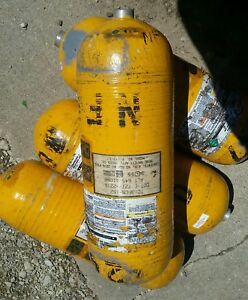1 Fireman Rescue Aluminum Air Tank No Valves Not Current Certification