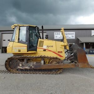 2005 Dozer New Holland Dc150b Lt Very Nice Shape New Undercarriage Case 1550