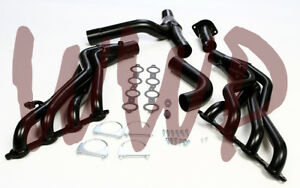 1 7 8 Long Tube Exhaust Header Y pipe Kit 99 06 Chevy gmc Pickup Truck suv s