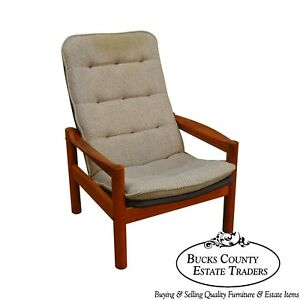 Domino Mobler Danish Modern Teak Lounge Chair